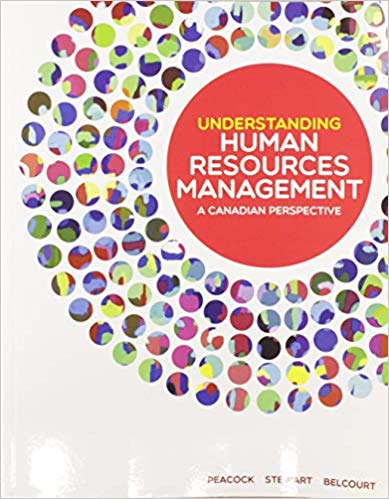 Test Bank for Understanding Human Resources Management A Canadian Perspective by Peacock