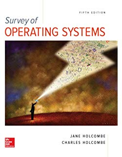 Test Bank for Survey of Operating Systems 6th by Holcombe