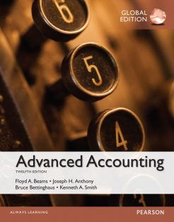 Test Bank for Beams Advanced Accounting, Global Edition 12th by Beams