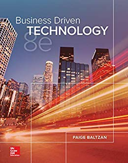 Solution Manual for Business Driven Technology 8th by Baltzan