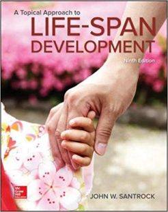 Test Bank for A Topical Approach to Lifespan Development 9th by Santrock