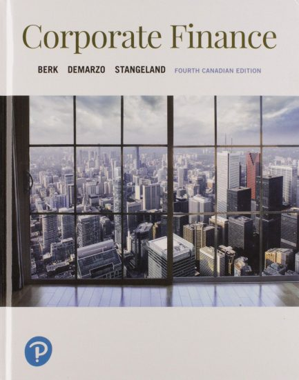 Solution Manual for Corporate Finance 4th Canadian Edition by Berk