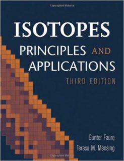 Solution Manual for Isotopes Principles and Applications 3rd by Faure