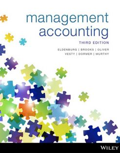 Test Bank for Management Accounting 3rd by Eldenburg