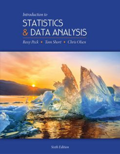 Test Bank for Introduction to Statistics and Data Analysis 6th by Peck