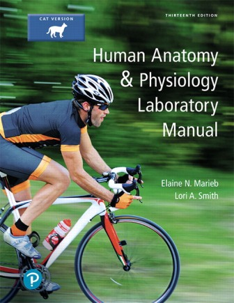 Test Bank for Human Anatomy and Physiology Laboratory Manual, Cat version 13th Edition Marieb ISBN-10: 0134767349, ISBN-13: 9780134767345