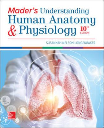 Test Bank for Mader's Understanding Human Anatomy & Physiology, 10th Edition, Susannah Longenbaker ISBN10: 126020927X ISBN13: 9781260209273