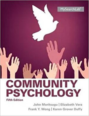 Community Psychology 5th Duffy Solution Manual