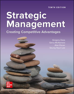 Test Bank for Strategic Management: Creating Competitive Advantages, 10th Edition, Gregory Dess, Gerry McNamara, Alan Eisner, Seung-Hyun Lee, ISBN10: 1260706621, ISBN13: 9781260706628