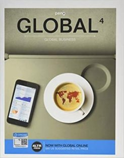 Solution Manual for GLOBAL 4, 4th Edition, Mike Peng, ISBN-10: 1337406821, ISBN-13: 9781337406826