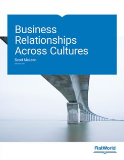 Business Relationships Across Cultures Version 1 0 1st McLean Test Bank