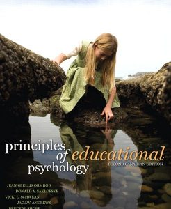 Test Bank for Principles of Educational Psychology, Second Canadian Edition, 2/E 2nd Edition