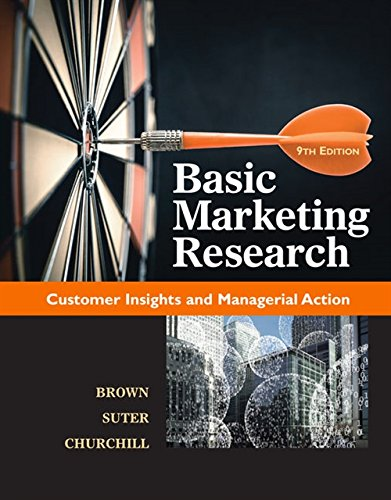 Test Bank For Basic Marketing Research (with Qualtrics, 1 term (6 months) Printed ) 9th Edition