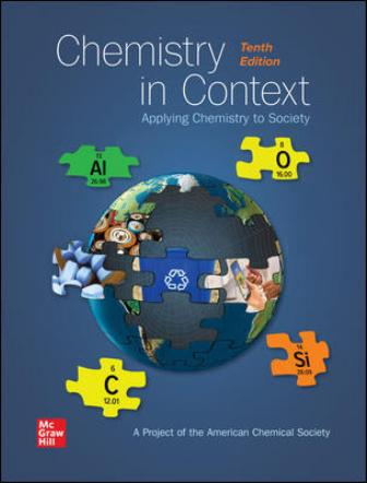 Test Bank for Chemistry in Context, 10th Edition, American Chemical Society, ISBN10: 1260240843, ISBN13: 9781260240849