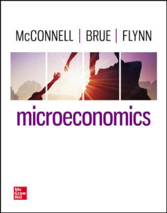 Test Bank for Microeconomics, 22nd Edition, Campbell McConnell, Stanley Brue, Sean Flynn, ISBN10: 1264112521, ISBN13: 9781264112524