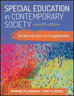 Test Bank for Special Education in Contemporary Society An Introduction to Exceptionality, 7th Edition, Richard M. Gargiulo, Emily C. Bouck, ISBN: 9781544373690, ISBN: 9781544373652, ISBN: 9781071800218